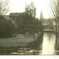 Postales: GERONA-CATEDRAL Y JARDINES DE LA DEHESA- AÑO 1909-FOTOGRÁFICA- JV Nº 510. Lote 210712822