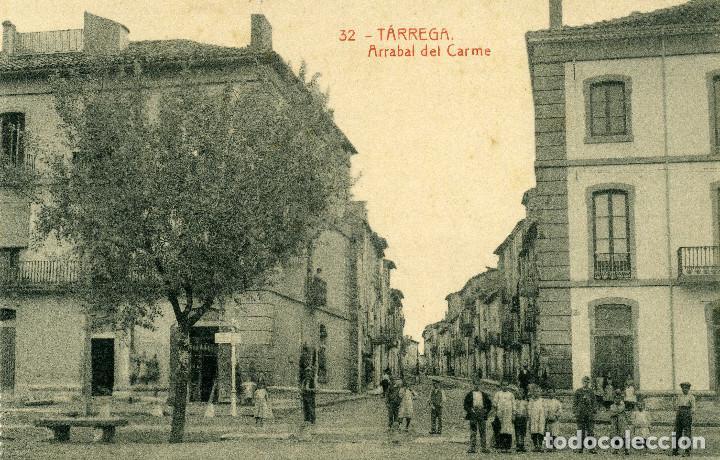 TÁRREGA - ARRABAL DEL CARME (Postales - España - Cataluña Antigua (hasta 1939))