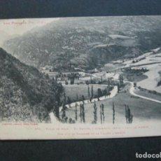Postales: VALLE DE ARAN-GARONA Y CARRETERA-LABOUCHE FRERES-376-POSTAL ANTIGUA-(72.609). Lote 210786587