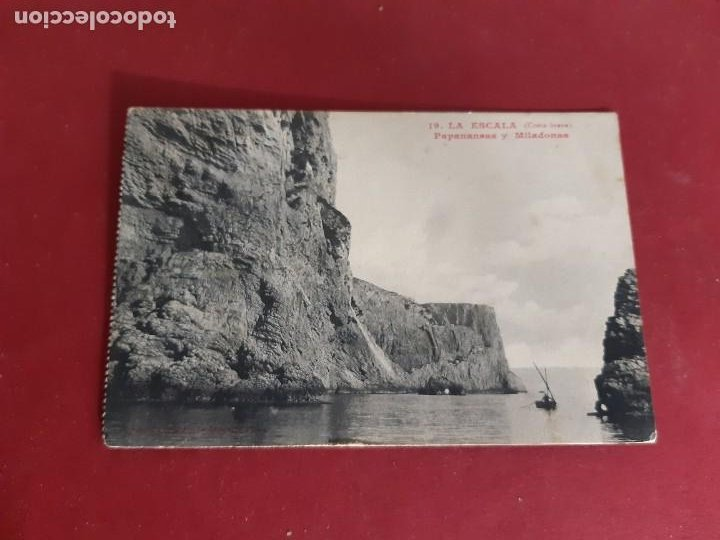 L'ESCALA-GIRONA-PRINCIPIOS DE SIGLO-CIRCULADA (Postales - España - Cataluña Antigua (hasta 1939))