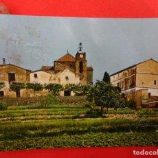 Postales: SANT PERE DE BIGUES. ESGLESIA PARROQUIAL. Lote 210934851