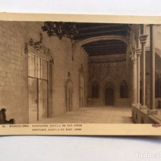 Postales: BARCELONA POSTAL NO.43, DIPUTACION. CAPILLA DE SAN JORGE. EDIC. GUILERA (H.1930?) S/C. Lote 211256197