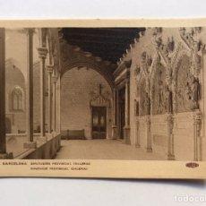 Postales: BARCELONA POSTAL NO.55, DIPUTACION PROVINCIAL. GALERÍA, EDIC. GUILERA (H.1930?) S/C. Lote 211256299