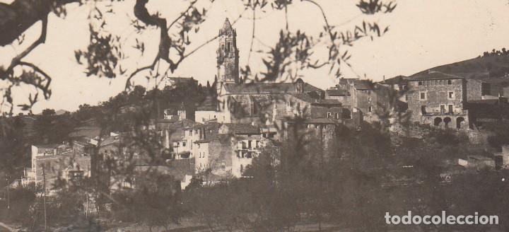 Postales: POSTAL FOTOGRAFICA DE MASPUJOLS -TARRAGONA - 1929 VER FOTOS ADJUNTAS - - Foto 2 - 211273454