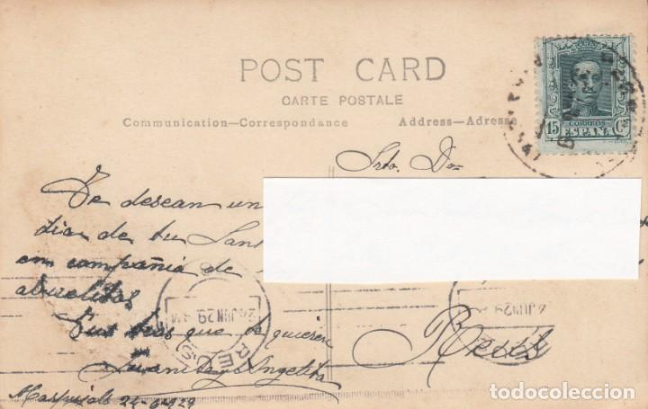 Postales: POSTAL FOTOGRAFICA DE MASPUJOLS -TARRAGONA - 1929 VER FOTOS ADJUNTAS - - Foto 3 - 211273454