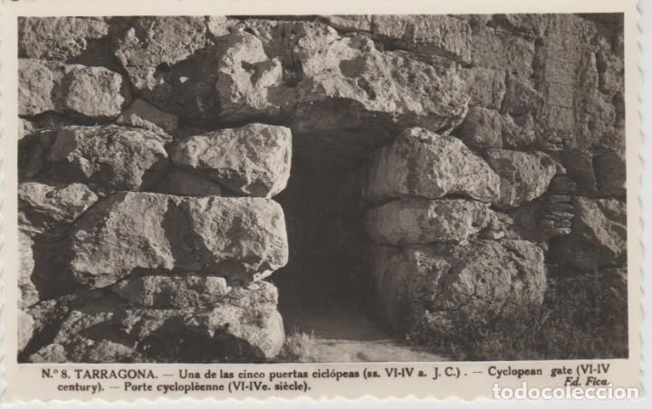 TARRAGONA. UNA DE LAS CINCO PUERTAS CICLOPEAS ... SIN CIRCULAR (Postales - España - Cataluña Moderna (desde 1940))