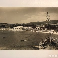 Postales: S'AGARO (GERONA) COSTA BRAVA POSTAL NO.2, PLAYA, EDIC. FOTO M C (H.1950?) S/C. Lote 211439177