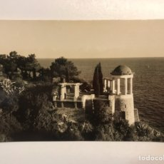 Postales: BLANES, COSTA BRAVA (GERONA) POSTAL JARDIN BOTÁNICO MARIMURTRA, FOTO ROMANI (H.1950?) S/C. Lote 211439271