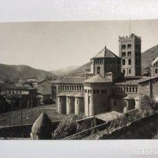 Postales: RIPOLL (GERONA) POSTAL NO.17, MONASTERIO. VISTA GENERAL. FOTO MAIDEU (A.1954) ESCRITA... Lote 211440236