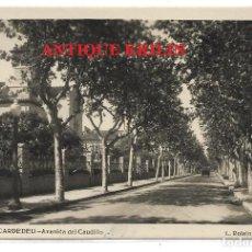 Postales: CARDEDEU Nº 4 AVENIDA DEL CAUDILLO .- FOTO L. ROISIN. Lote 211453115