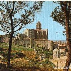 Postales: GIRONA - 50 PASEO ARQUEOLÓGICO Y LA CATEDRAL. Lote 211485794