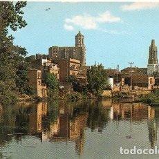 Postales: GIRONA - 51 RÍO TER - CATEDRAL Y SÁN FÉLIX. Lote 211486445
