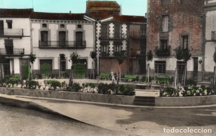 HORTA DE SAN JUAN. 2 PLAZA CALVO SOTELO. COLOREADA. EDITORIAL FOTOGRÁFICA (Postales - España - Cataluña Moderna (desde 1940))