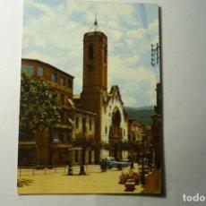 Postales: POSTAL PUEBLA DE SEGUR .-IGLESIA. Lote 211628045