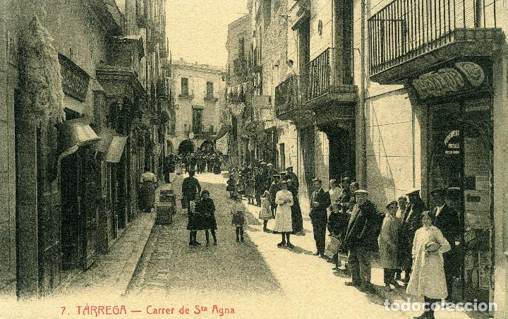 TÁRREGA - CARRER DE STA. ANA (Postales - España - Cataluña Antigua (hasta 1939))
