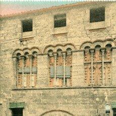 Postales: TÁRREGA - PALAU MARQUESOS DE LA FLORESTA. Lote 211636032