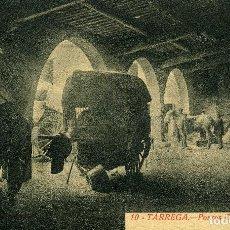 Postales: TÁRREGA - PORXOS D´UN ANTIC HOSTAL. Lote 211636347