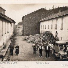 Postales: SANT JOAN DE L'ERM. PATI DE LA CASA. Lote 211639954