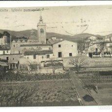 Postales: (PS-63372)POSTAL FOTOGRAFICA DE ALELLA-IGLESIA PARROQUIAL.J.B.. Lote 211688776