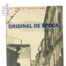 Postales: (PS-63373)POSTAL FOTOGRAFICA DE LA SECUITA-CALLE DE LA VICTORIA.J.B.. Lote 211689053