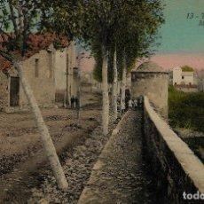 Postales: TÁRREGA - MURALLA. Lote 211745898
