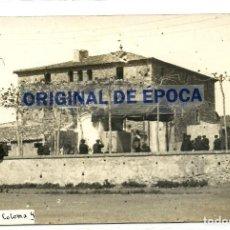 Postales: (PS-63387)POSTAL FOTOGRAFICA DE SANTA COLOMA DE GRAMANET-MASIA. Lote 211799443