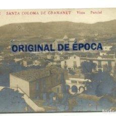 Postales: (PS-63390)POSTAL FOTOGRAFICA DE SANTA COLOMA DE GRAMANET-VISTA PARCIAL.J B. Lote 211799876