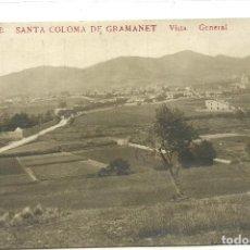 Postales: (PS-63391)POSTAL FOTOGRAFICA DE SANTA COLOMA DE GRAMANET-VISTA GENERAL.J B. Lote 211800007