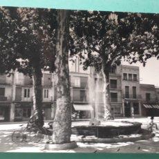 Cartes Postales: GRANOLLERS - PLAZA DE PERPIÑAN. Lote 211908400