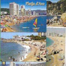 Postales: 10 POSTALES * PLATJA D'ARO * (6). Lote 211994903
