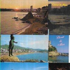 Postales: 10 POSTALES * LLORET DE MAR * (10). Lote 211996072