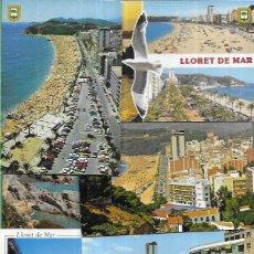 Postales: 10 POSTALES * LLORET DE MAR * (11). Lote 211996323
