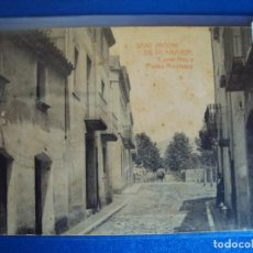 Postales: (PS-63472)POSTAL DE SANT ANTONI DE VILAMAJOR-CARRER NOU Y PLASSA MONTSENY. Lote 212017902