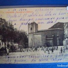 Postales: (PS-63474)POSTAL DE CABRERA-PLAZA DE LA CONSTITUCION. Lote 212018183