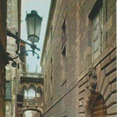 Postales: (2386) BARCELONA. CALLE DEL OBISPO IRRURITA ... SIN CIRCULAR. Lote 212018887