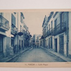 Postales: PINEDA DE MAR - CALLE MAYOR - CAT5. Lote 212393048