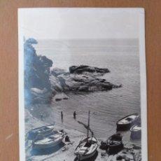 Postales: POSTAL COSTA BRAVA Nº 84 PLAYA DE LA COVA C. MAURI BARCELONA CIRCULADA 1943. Lote 212462023