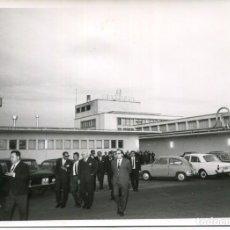 Postales: TORDERA-FIBRACOLOR S.A.-VISITA AUTORIDADES AÑOS 1950-FOTOGRÁFICA-ACABADOS TEXTILES-RARA. Lote 212470978