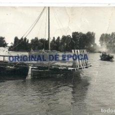 Postais: (PS-63531)POSTAL DE LA CAVA-RIO EBRO.BARCAZA DE PASEO. Lote 212618317