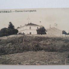 Postales: MONTMELÓ - TORRE CAMPAÑÁ - CAT7. Lote 212638792