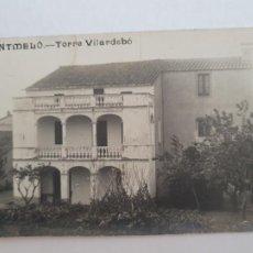Postales: MONTMELÓ - TORRE VILARDEBÓ - CAT7. Lote 212638898