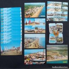 Postales: 8 POSTALES CALAFELL TARRRAGONA AÑOS 60-70 SE REGALAN REPETIDAS (P14). Lote 212777487