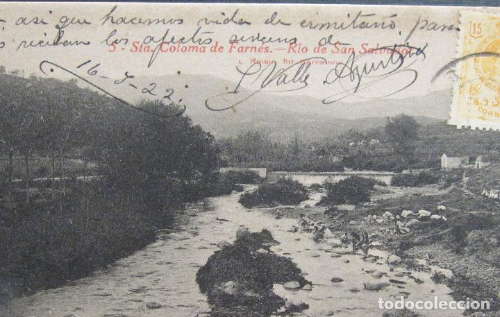 Postales: POSTAL. SANTA COLOMA DE FARNÉS. RIO DE SAN SALVADOR. L. ROISIN, Nº 5 - Foto 2 - 212928622