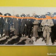 Postales: FOTOGRAFÍA ANTIGUA POSTAL. BURGUESÍA. HIPÓDROMO DE BARCELONA.. Lote 213077703