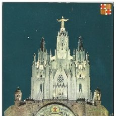 Postales: // E131 - POSTAL - BARCELONA - TEMPLO DEL TIBIDABO. Lote 213182775