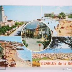Postales: POSTAL EN COLOR - SAN CARLOS DE LA RÁPITA. COSTA DORADA, TARRAGONA - ED. LIBRERÍA DASSOY. Lote 213238638