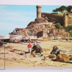 Postales: POSTAL EN COLOR - TOSSA. PLAYA EL RECÓ, Nº 6 - FOTÓGRAFO M. FABREGAS. Lote 213238952