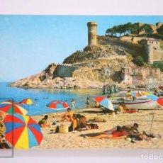 Postales: POSTAL EN COLOR - TOSSA DE MAR. COSTA BRAVA, 494 - FOTO J. UBACH PUIG, BARCELONA. Lote 213239760