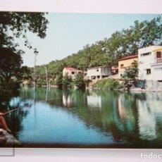 Postales: POSTAL EN COLOR - 2048, LA JUNQUERA / JONQUERA. ALREDEDORES DEL HOTEL LA PÉRGOLA - ED. LC. Lote 213241117