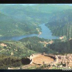 Postales: BERGA. *MIRADOR DE LA FIGUERASSA. AL FONS PANTÀ DE LA BAELLS* NUEVA.. Lote 9870399